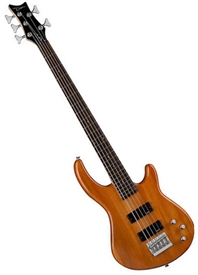 dean edge 1 5 string electric bass guitar in trans amber e1 5 tam. Black Bedroom Furniture Sets. Home Design Ideas