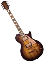 AXL AL-820-MS Badwater 1216 LP Style Electric Guitar - Matte Sunburst