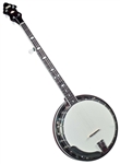 Flinthill FHB-250 Mahogany Resonator 5 String Banjo w/ Case