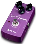 JOYO JF-34 US Dream Distortion Guitar Effects Pedal FX Stompbox True Bypass