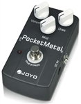 JOYO JF-35 Pocket Metal Guitar Effects Pedal Distortion FX Stompbox True Bypass