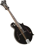 Kentucky KM-1000B Deluxe All Solid Master Model F-Style Mandolin Black