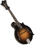 Kentucky KM-1050 Deluxe All Solid Master Model F-Style Mandolin with Hard Case