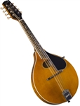 Kentucky KM-272 Artist A-Style Oval-Hole Mandolin All-Solid Vintage Amber Nitrocellulose Finish