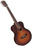 Morgan Monroe Creekside Collection MMV-5B Mini Solid Top Acoustic Guitar-Free Case, setup, shipping!