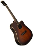 Morgan Monroe Creekside MV-EC-45/C Dreadnought Cutaway Acoustic Electric Guitar